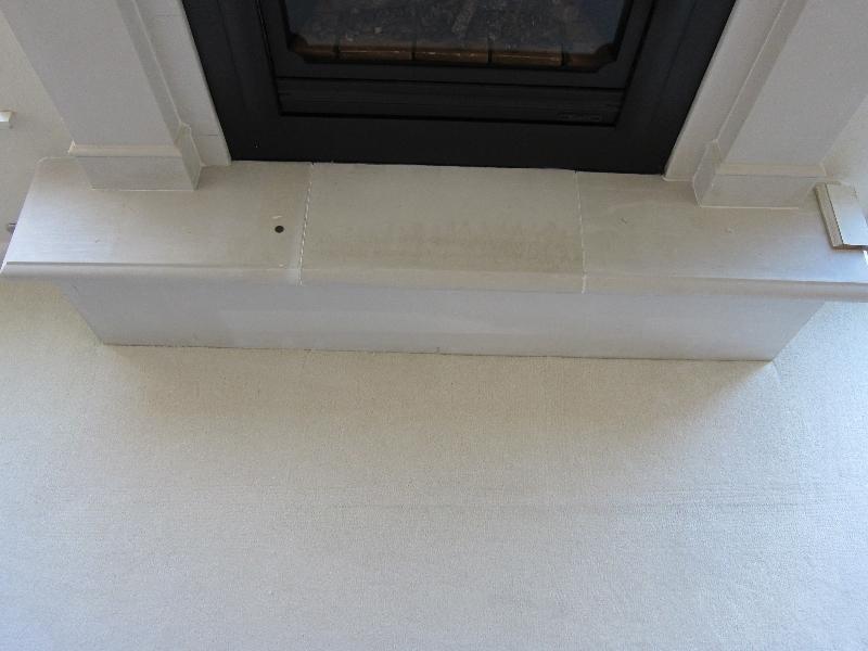 Carpet patch - After