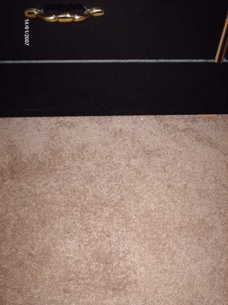 carpet patch - after